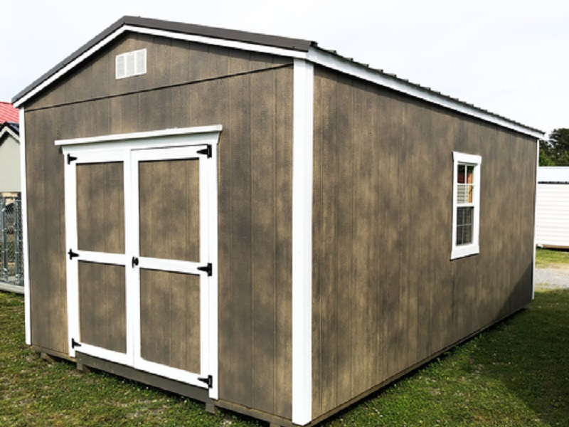 utility shed wooden