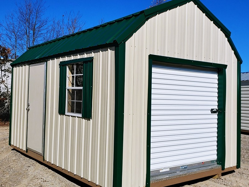 Vertical Ag Barn with 6 x 6 Roll up door